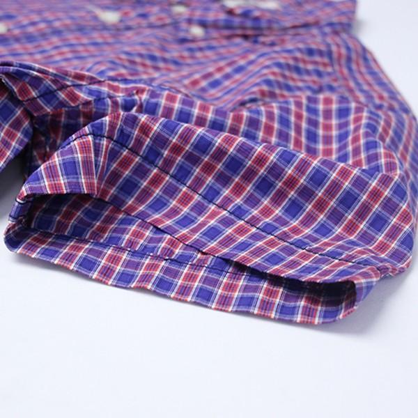 ネコポス対応 チェックシャツ メンズ チェックシャツ 半袖 KEARNEY HOUSE メンズ チェック ワークシャツ 半袖 シャツ レギュラー F5501|jeans-yamato|06
