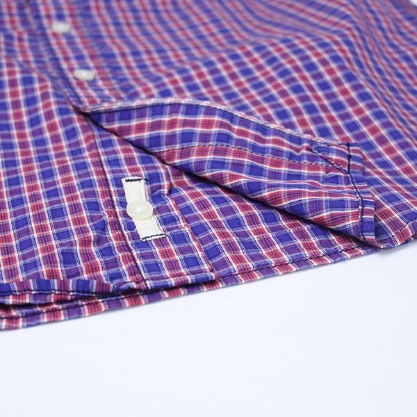 ネコポス対応 チェックシャツ メンズ チェックシャツ 半袖 KEARNEY HOUSE メンズ チェック ワークシャツ 半袖 シャツ レギュラー F5501|jeans-yamato|07