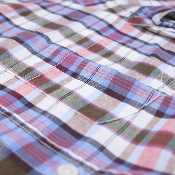 チェックシャツ メンズ チェックシャツ 半袖 KEARNEY HOUSE メンズ チェック ワークシャツ 半袖 シャツ レギュラー G5501-53151|jeans-yamato|04