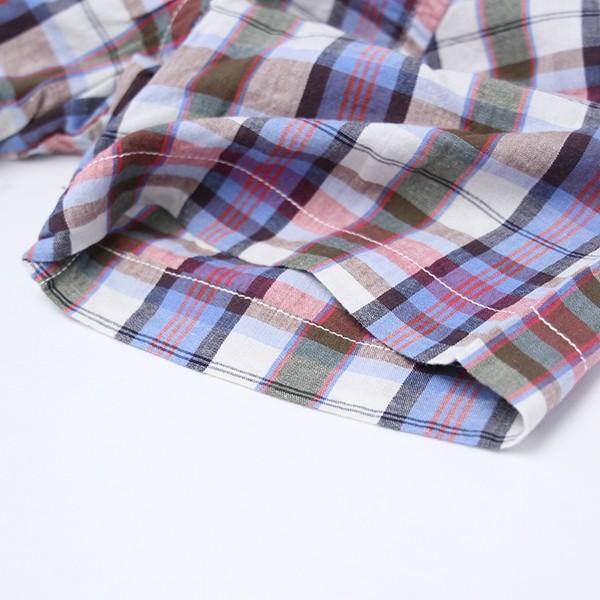 チェックシャツ メンズ チェックシャツ 半袖 KEARNEY HOUSE メンズ チェック ワークシャツ 半袖 シャツ レギュラー G5501-53151|jeans-yamato|05