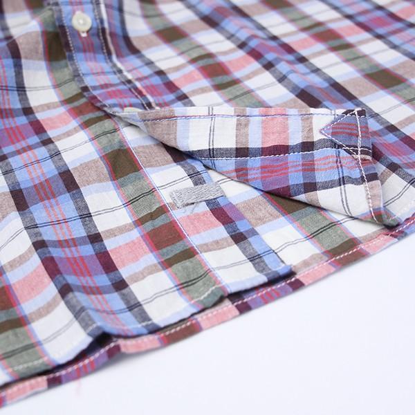 チェックシャツ メンズ チェックシャツ 半袖 KEARNEY HOUSE メンズ チェック ワークシャツ 半袖 シャツ レギュラー G5501-53151|jeans-yamato|06