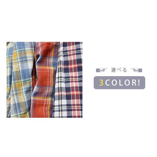 チェックシャツ メンズ チェックシャツ 半袖 KEARNEY HOUSE メンズ チェック ワークシャツ 半袖 シャツ レギュラー H5501-63109|jeans-yamato|06