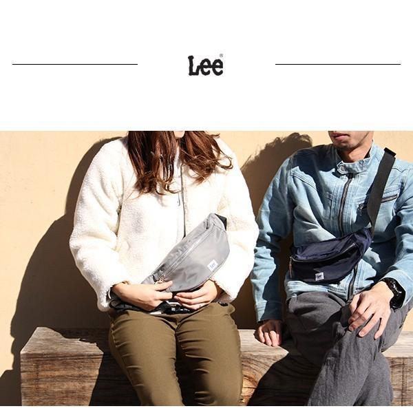 再入荷 Lee ショルダーバッグ 新作 ミニ メンズ レディース Lee バッグ ショルダー リー ウエストポーチ ナイロン 0425484|jeans-yamato|11