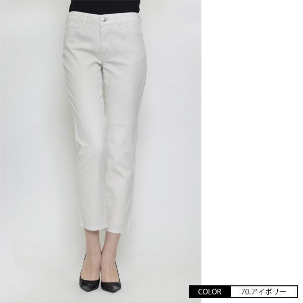 Mrs.Jeana ミセスジーナ サマーストレート パンツ 綿麻 カラーパンツ チノパンツ MJ-4422 jeans-yamato 04