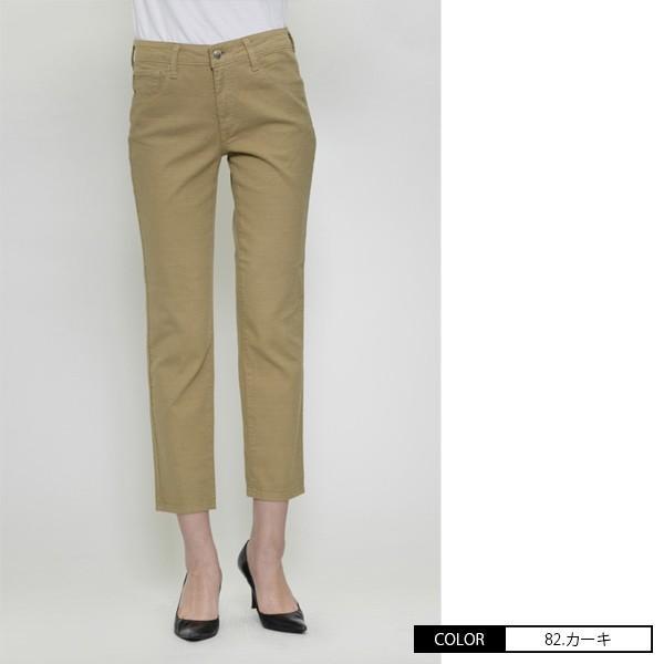 Mrs.Jeana ミセスジーナ サマーストレート パンツ 綿麻 カラーパンツ チノパンツ MJ-4422 jeans-yamato 05