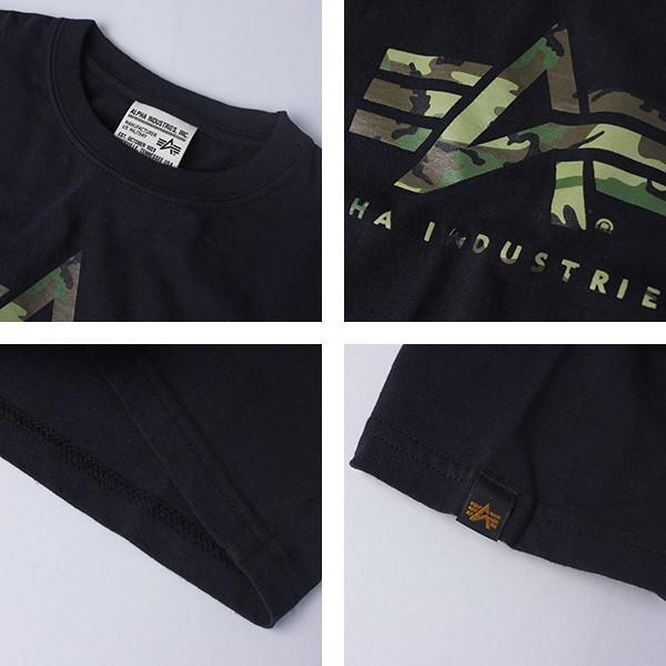 ネコポス対応 アルファ Tシャツ ALPHA Tシャツ 半袖 キッズ 男の子 男子 子供服 こども服 ロゴ TC8001|jeans-yamato|02
