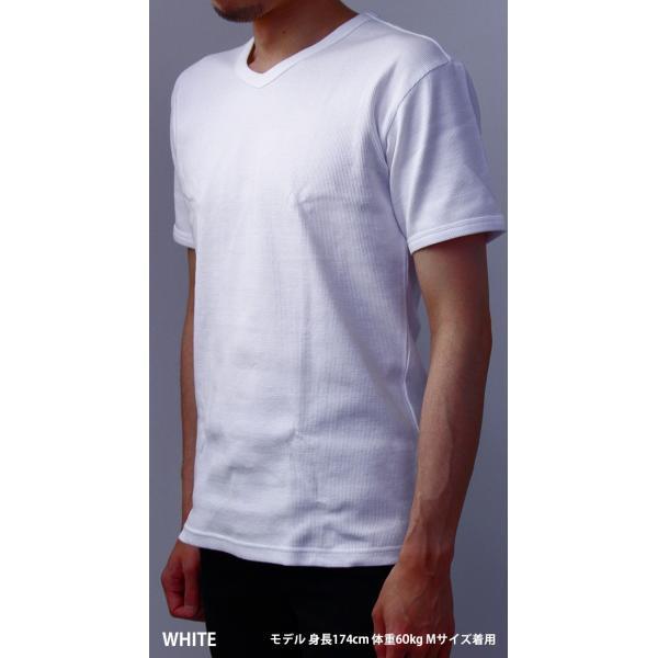 送料無料 ポイント10倍 AVIREX Tシャツ アビレックス Tシャツ Vネック 半袖 定番 無地 デイリー インナー メンズ DAILY WEAR デイリーウェア 6143149|jeans-yamato|02