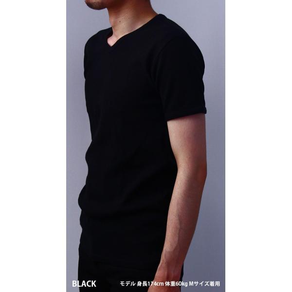 送料無料 ポイント10倍 AVIREX Tシャツ アビレックス Tシャツ Vネック 半袖 定番 無地 デイリー インナー メンズ DAILY WEAR デイリーウェア 6143149|jeans-yamato|03