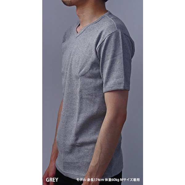 送料無料 ポイント10倍 AVIREX Tシャツ アビレックス Tシャツ Vネック 半袖 定番 無地 デイリー インナー メンズ DAILY WEAR デイリーウェア 6143149|jeans-yamato|04