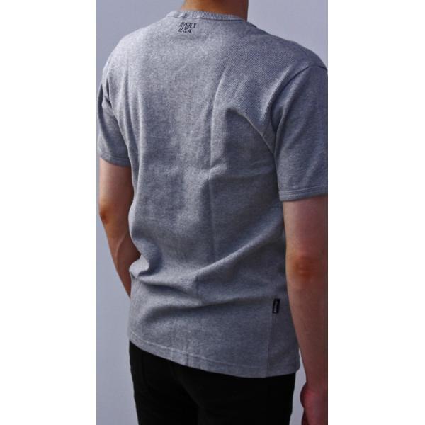 送料無料 ポイント10倍 AVIREX Tシャツ アビレックス Tシャツ Vネック 半袖 定番 無地 デイリー インナー メンズ DAILY WEAR デイリーウェア 6143149|jeans-yamato|06