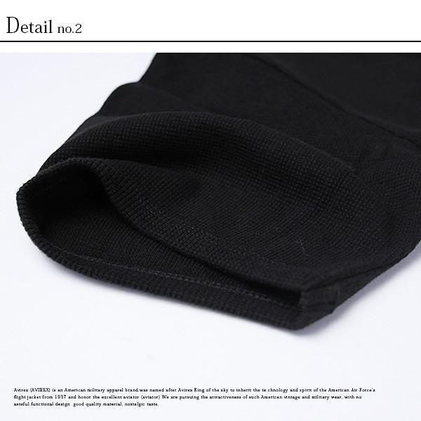 送料無料 ポイント10倍 AVIREX Tシャツ アビレックス Tシャツ Vネック 半袖 定番 無地 デイリー インナー メンズ DAILY WEAR デイリーウェア 6143149|jeans-yamato|08