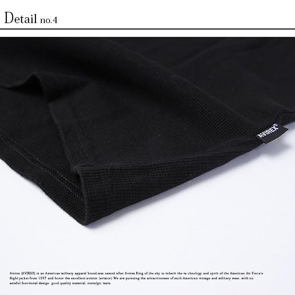 送料無料 ポイント10倍 AVIREX Tシャツ アビレックス Tシャツ Vネック 半袖 定番 無地 デイリー インナー メンズ DAILY WEAR デイリーウェア 6143149|jeans-yamato|10