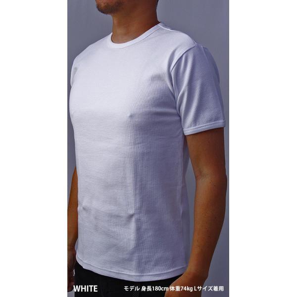 送料無料 ポイント10倍 AVIREX Tシャツ アビレックス Tシャツ Uネック 半袖 定番 無地 ワッフル デイリー インナー メンズ DAILY WEAR デイリーウェア 6143150 jeans-yamato 02