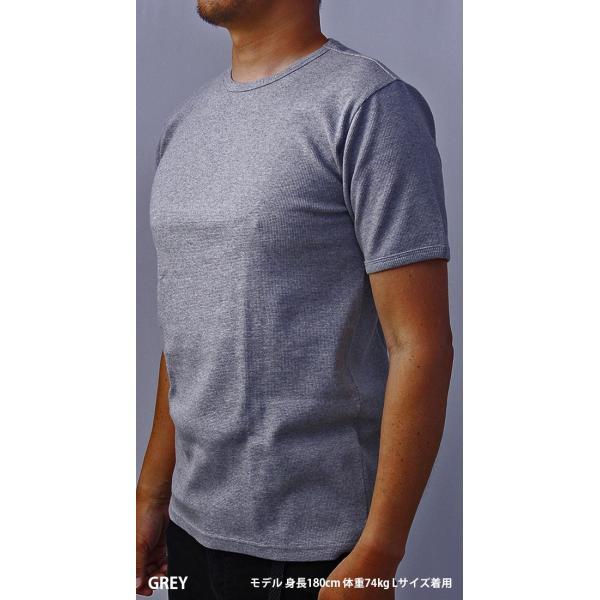 送料無料 ポイント10倍 AVIREX Tシャツ アビレックス Tシャツ Uネック 半袖 定番 無地 ワッフル デイリー インナー メンズ DAILY WEAR デイリーウェア 6143150 jeans-yamato 04