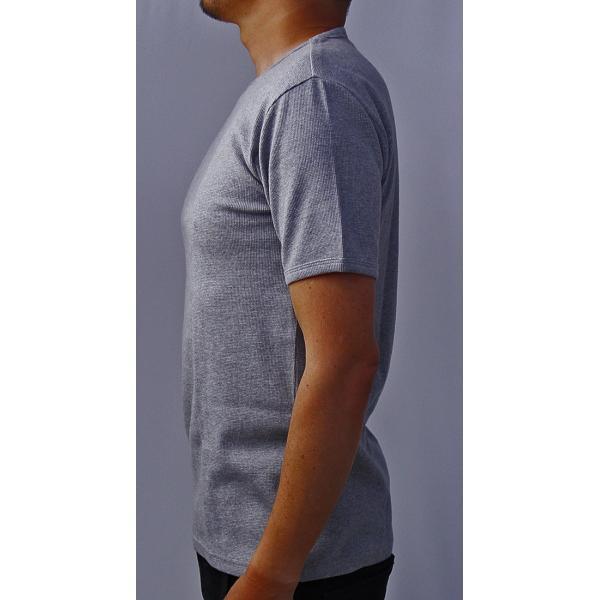 送料無料 ポイント10倍 AVIREX Tシャツ アビレックス Tシャツ Uネック 半袖 定番 無地 ワッフル デイリー インナー メンズ DAILY WEAR デイリーウェア 6143150 jeans-yamato 05