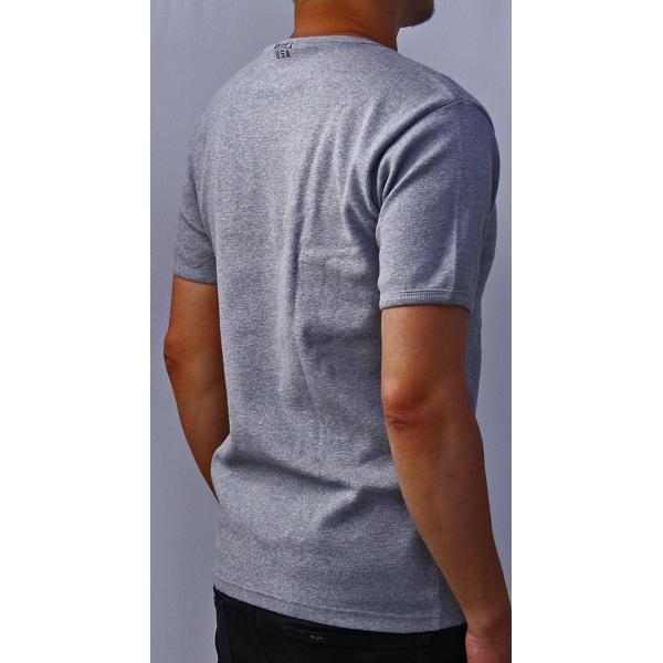 送料無料 ポイント10倍 AVIREX Tシャツ アビレックス Tシャツ Uネック 半袖 定番 無地 ワッフル デイリー インナー メンズ DAILY WEAR デイリーウェア 6143150 jeans-yamato 06