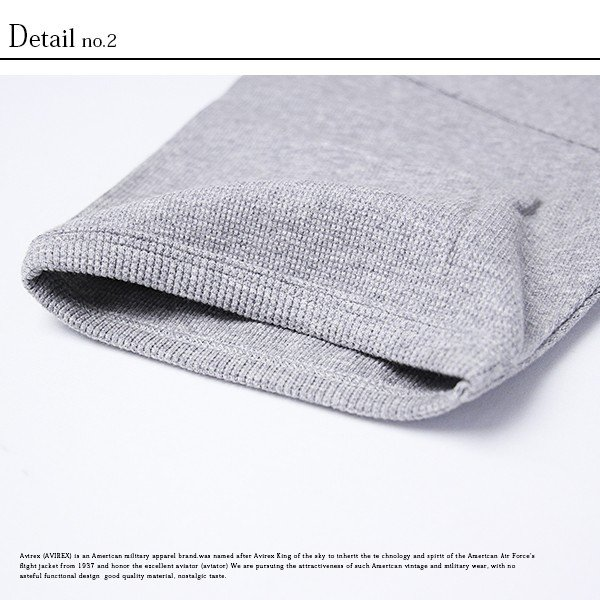 送料無料 ポイント10倍 AVIREX Tシャツ アビレックス Tシャツ Uネック 半袖 定番 無地 ワッフル デイリー インナー メンズ DAILY WEAR デイリーウェア 6143150 jeans-yamato 08