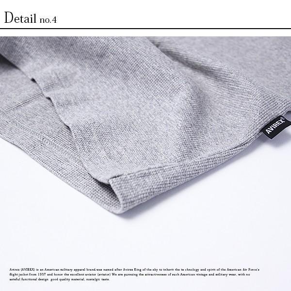 送料無料 ポイント10倍 AVIREX Tシャツ アビレックス Tシャツ Uネック 半袖 定番 無地 ワッフル デイリー インナー メンズ DAILY WEAR デイリーウェア 6143150 jeans-yamato 10