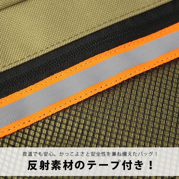 ディッキーズ ショルダーバッグ Dickies ショルダーバッグ ミニ ボディバッグ リフレクターテープ付き 通勤 通学 14024000 jeans-yamato 10