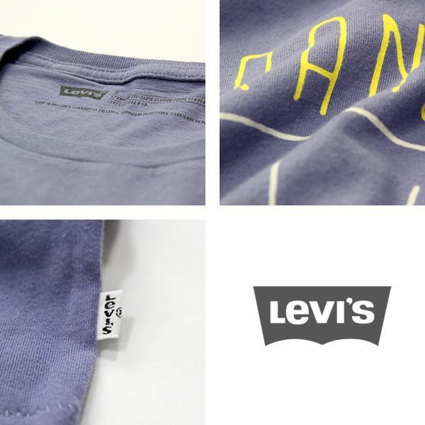 ネコポス対応 リーバイス Levi's グラフィックセットインネックTシャツ 半袖 プリント Tシャツ ブルー アメカジ メンズ 17783-0062 jeans-yamato 04
