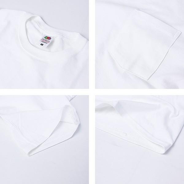 ネコポス対応 フルーツオブザルーム Tシャツ パックT FRUIT OF THE LOOM 半袖 2枚セット 綿100% インナー メンズ 922-504PK jeans-yamato 06