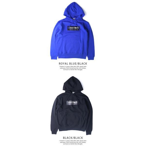 blue.black パーカー ブルーブラック パーカー BOX LOGO PULLOVER PARKA メンズ プリント バス釣り フィッシング アウトドア BBP-001|jeans-yamato|05