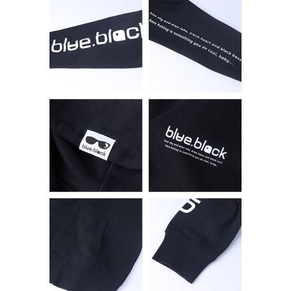 blue.black パーカー ブルーブラック パーカー ZIP SWEAT PARKA メンズ プリント バス釣り フィッシング アウトドア BBP-002|jeans-yamato|06
