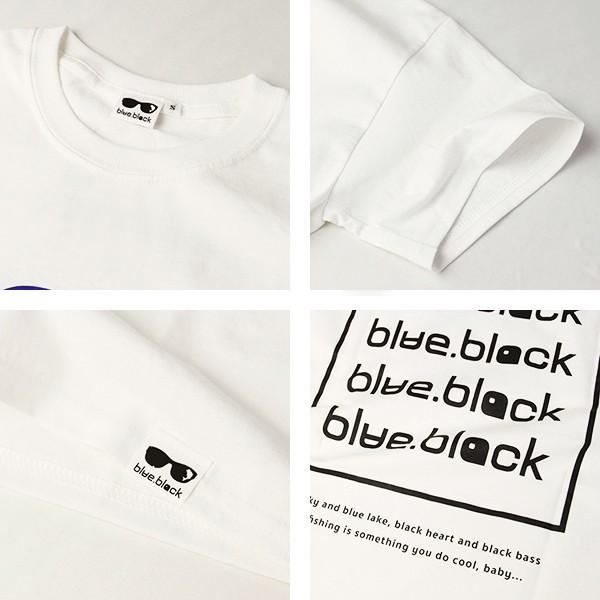 blue.black Tシャツ ブルーブラック Tシャツ LOGO PRINT S/S T-SHIRT メンズ 半袖 プリント バス釣り フィッシング BBL-004 jeans-yamato 11