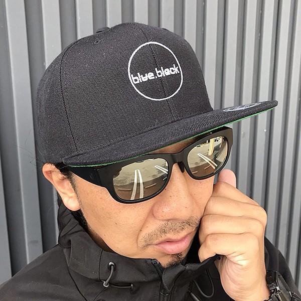 blue.black キャップ 帽子 ブルーブラック キャップ 帽子 ブラックバス バス釣り バスフィッシング アウトドア スナップキャップ ebc-001|jeans-yamato|03
