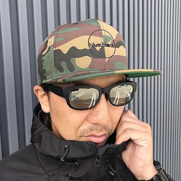 blue.black キャップ 帽子 ブルーブラック キャップ 帽子 ブラックバス バス釣り バスフィッシング アウトドア スナップキャップ ebc-001|jeans-yamato|05
