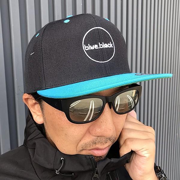 blue.black キャップ 帽子 ブルーブラック キャップ 帽子 ブラックバス バス釣り バスフィッシング アウトドア スナップキャップ ebc-001|jeans-yamato|07