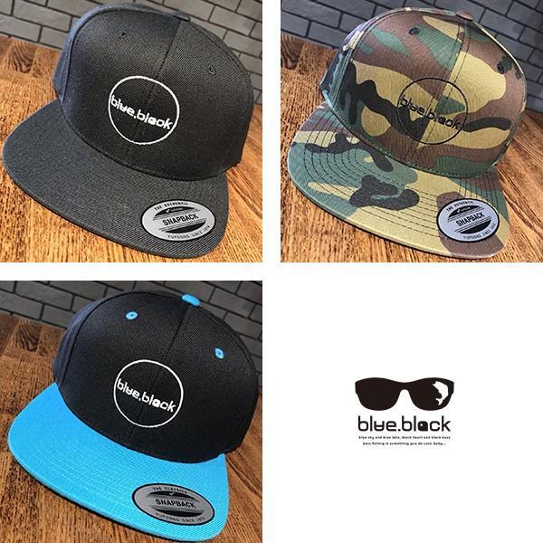 blue.black キャップ 帽子 ブルーブラック キャップ 帽子 ブラックバス バス釣り バスフィッシング アウトドア スナップキャップ ebc-001|jeans-yamato|09