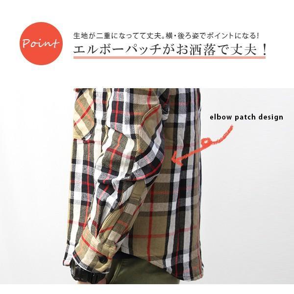 ネルシャツ メンズ 長袖 チェックシャツ メンズ 長袖 HEAVY FLANNNEL CHECK SHIRT 8色展開 ALCARZA 69-900|jeans-yamato|03