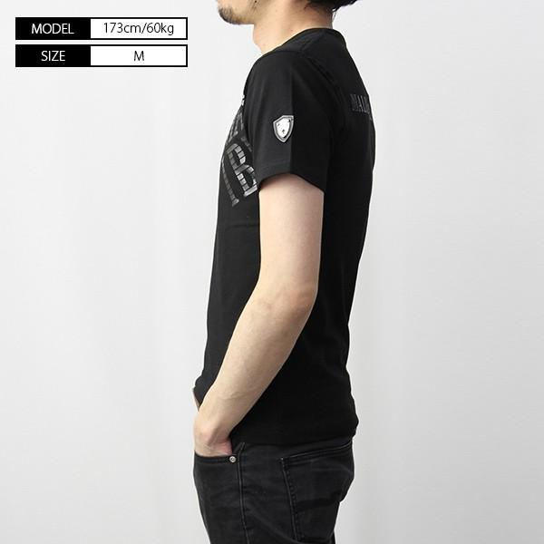 VIOLA RUMORE Tシャツ ヴィオラルモア Tシャツ Vネック マリブ イタリア イタリアン ビター系 BITTER 半袖 メンズ トップス 91331|jeans-yamato|03