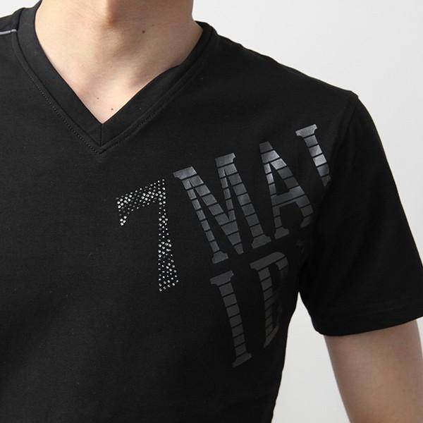VIOLA RUMORE Tシャツ ヴィオラルモア Tシャツ Vネック マリブ イタリア イタリアン ビター系 BITTER 半袖 メンズ トップス 91331|jeans-yamato|08