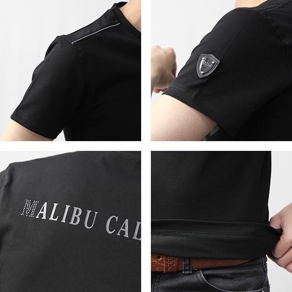 VIOLA RUMORE Tシャツ ヴィオラルモア Tシャツ Vネック マリブ イタリア イタリアン ビター系 BITTER 半袖 メンズ トップス 91331|jeans-yamato|09