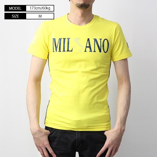 VIOLA RUMORE Tシャツ ヴィオラルモア Tシャツ ミラノ イタリア イタリアン ビター系 BITTER 半袖 カットソー  メンズ トップス 91336 jeans-yamato 02