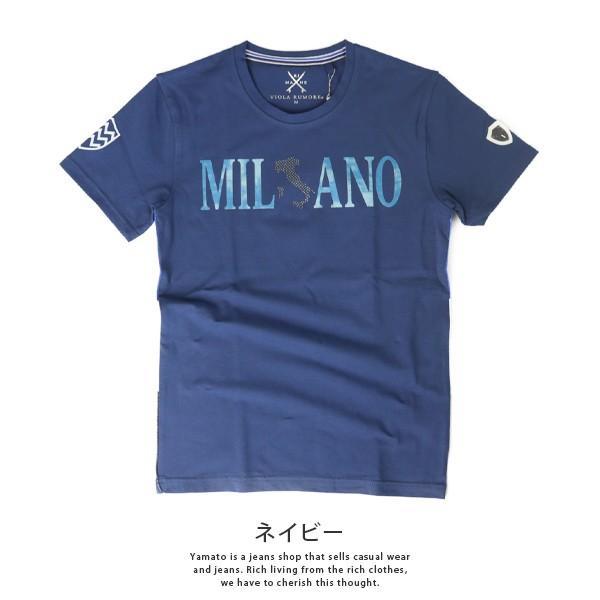 VIOLA RUMORE Tシャツ ヴィオラルモア Tシャツ ミラノ イタリア イタリアン ビター系 BITTER 半袖 カットソー  メンズ トップス 91336 jeans-yamato 05