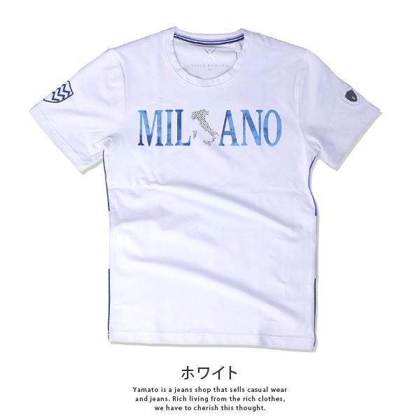 VIOLA RUMORE Tシャツ ヴィオラルモア Tシャツ ミラノ イタリア イタリアン ビター系 BITTER 半袖 カットソー  メンズ トップス 91336 jeans-yamato 06