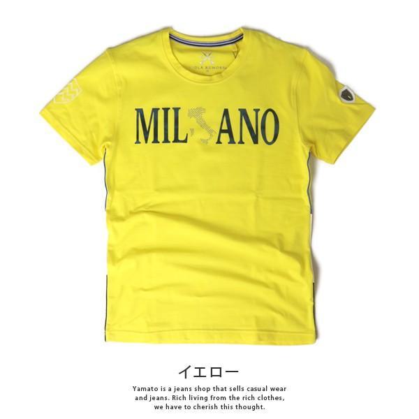 VIOLA RUMORE Tシャツ ヴィオラルモア Tシャツ ミラノ イタリア イタリアン ビター系 BITTER 半袖 カットソー  メンズ トップス 91336 jeans-yamato 07