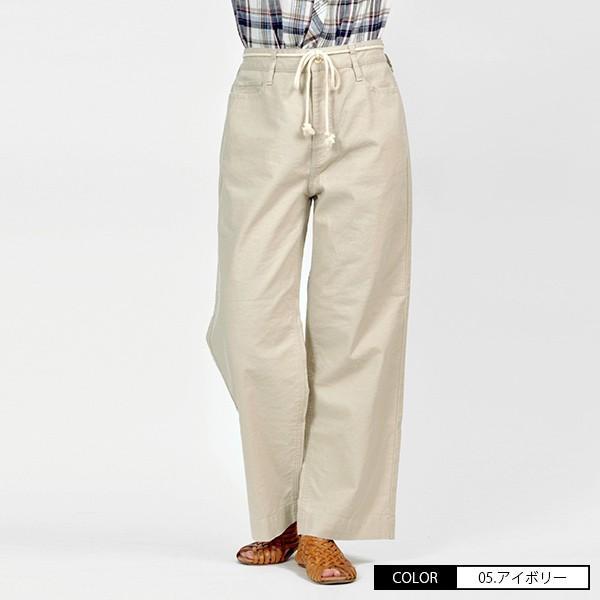 CAMEL ROAD イージードパンツ 綿麻生地 涼しいパンツ カラーイージーワイドパンツ キャメルロード ボトムス 春夏 L3-146A|jeans-yamato|03