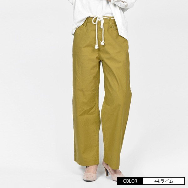 CAMEL ROAD イージードパンツ 綿麻生地 涼しいパンツ カラーイージーワイドパンツ キャメルロード ボトムス 春夏 L3-146A|jeans-yamato|04
