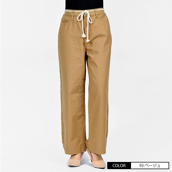 CAMEL ROAD イージードパンツ 綿麻生地 涼しいパンツ カラーイージーワイドパンツ キャメルロード ボトムス 春夏 L3-146A|jeans-yamato|05