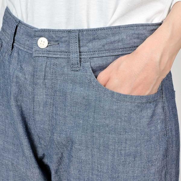 CAMEL ROAD クロップドパンツ 涼しいパンツ シャンブレーロールアップクロップド キャメルロード ボトムス 春夏 L5-662A|jeans-yamato|05