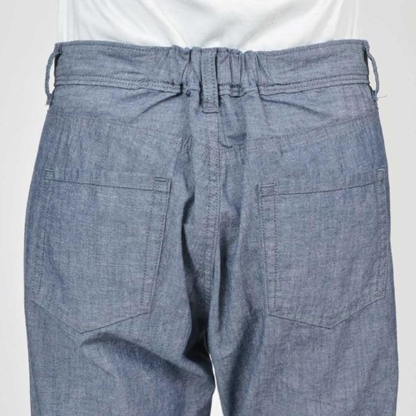 CAMEL ROAD クロップドパンツ 涼しいパンツ シャンブレーロールアップクロップド キャメルロード ボトムス 春夏 L5-662A|jeans-yamato|06