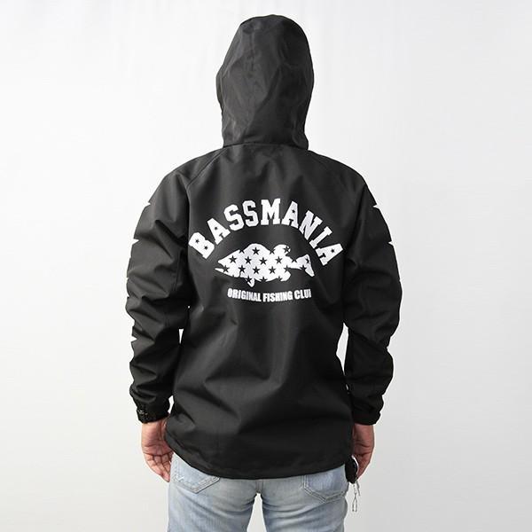 バスマニア マウンテンパーカー bassmania マウンテンジャケット ブラックバス バス釣り アウトドア バスフィッシング BJM05|jeans-yamato|04
