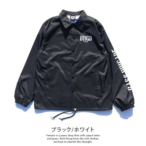 BASS BRIGADE コーチジャケット アウター メンズ バスブリゲード ブラックバス バス釣り フィッシング SSCJ01|jeans-yamato|02