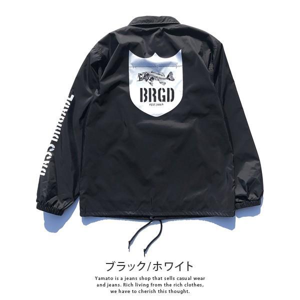 BASS BRIGADE コーチジャケット アウター メンズ バスブリゲード ブラックバス バス釣り フィッシング SSCJ01|jeans-yamato|03