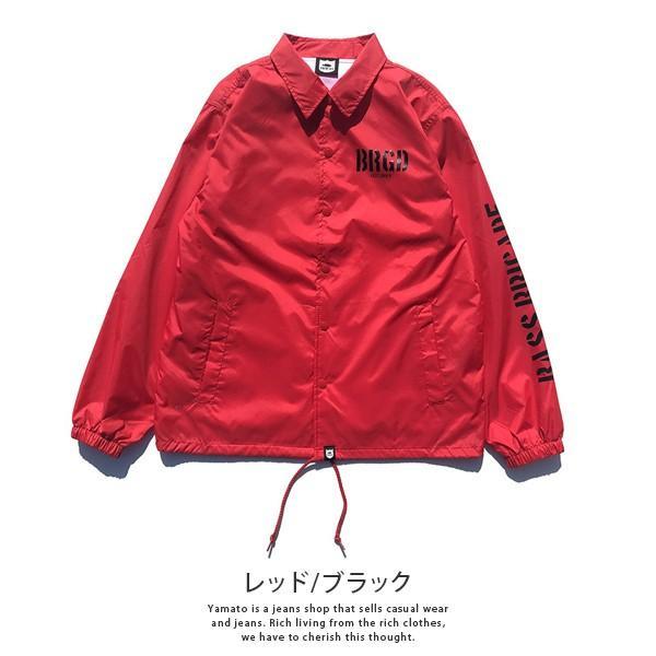 BASS BRIGADE コーチジャケット アウター メンズ バスブリゲード ブラックバス バス釣り フィッシング SSCJ01|jeans-yamato|04