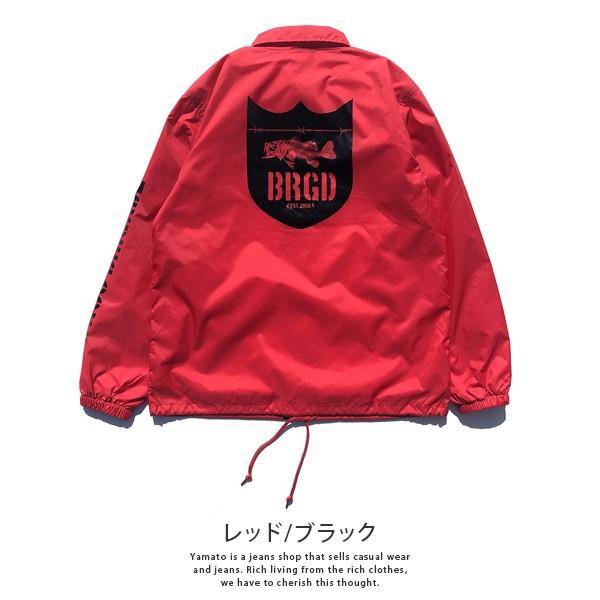 BASS BRIGADE コーチジャケット アウター メンズ バスブリゲード ブラックバス バス釣り フィッシング SSCJ01|jeans-yamato|05